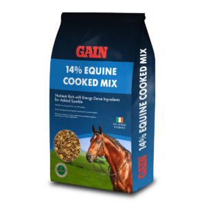 14% Equine Cooked Mix